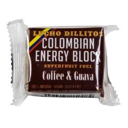 Lucho Dillitos Coffee kostka energetyczna z gujawy z kawą 40 g