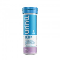 Nuun Sport Grape (winogronowy) - tuba 10 x 5,5 g