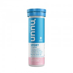 Nuun Sport Strawberry Lemonade (truskawkowa lemoniada) - tuba 10 x 5,5 g