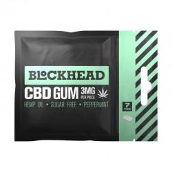 BlockHead guma do żucia z CBD - opakowanie zbiorcze