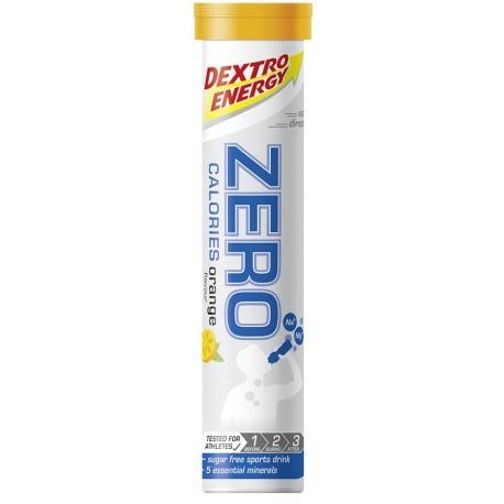 Dextro Energy Zero Calories napój z elektrolitami w tabletkach - smak pomarańczowy - tuba 20 x 4 g