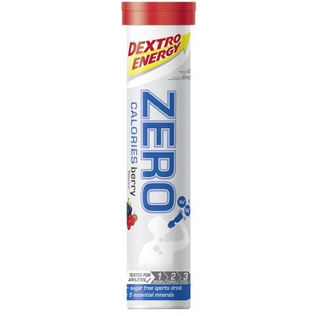 Dextro Energy Zero Calories napój z elektrolitami w tabletkach - smak owocowy - tuba 20 x 4 g